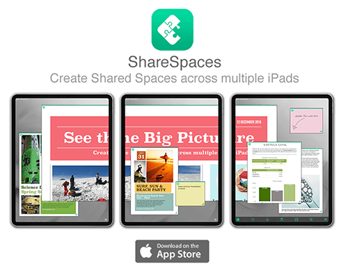 ShareSpaces app now available on the AppStore