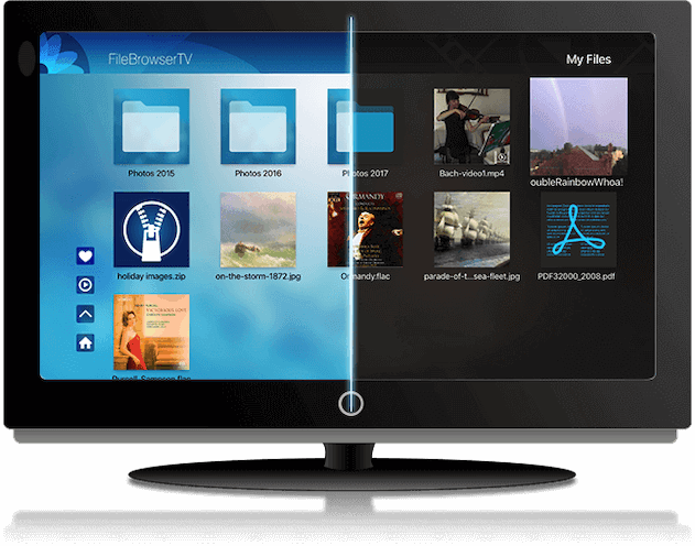 Browse your files from your AppleTV with FileBrowserTV