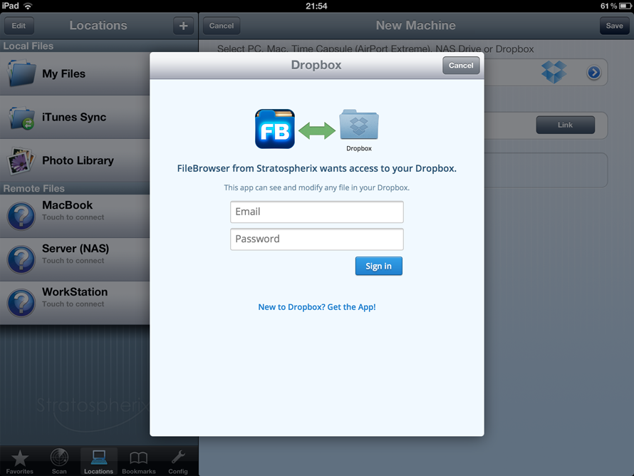 how to download photo folder from dropbox to ipad