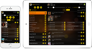 MusicStreamer just released on AppStore