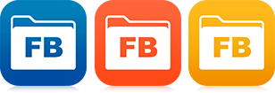 New FileBrowser icons for version 8.2