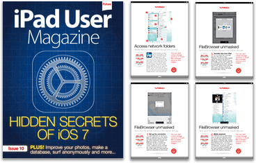 FileBrowser tutorial in iPad User magazine