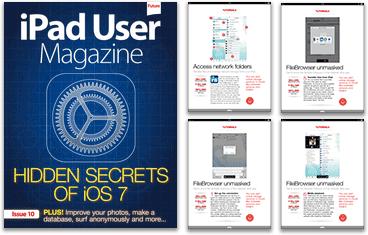 FileBrowser tutorial in iPad User magazine