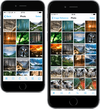 FileBrowser now supports the iPhone 6 models